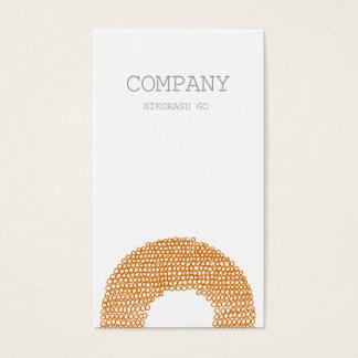 FLOWER BUSINESS CARD 名刺