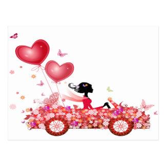 Flower Car ポストカード
