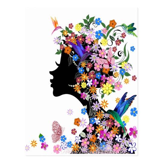 Flower Lady ポストカード