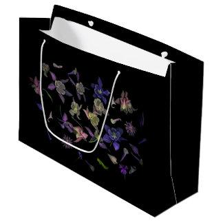 Flower Magic Gift Bag - Large, Glossy ラージペーパーバッグ