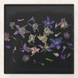 Flower Magic Glass Coaster ガラスコースター