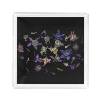 Flower Magic Small Square Tray アクリルトレー
