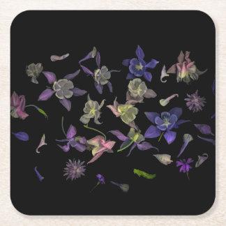 Flower Magic Square Coasters スクエアペーパーコースター