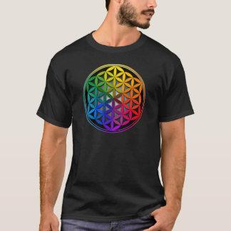 flower of life1 tシャツ