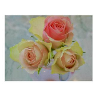flower postcard ポストカード