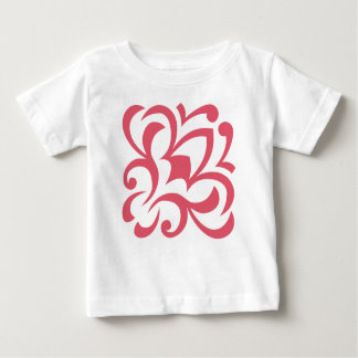 FLOWER VINTAGE ベビーTシャツ