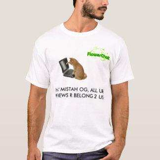 FlowerChat - OGの検討 Tシャツ