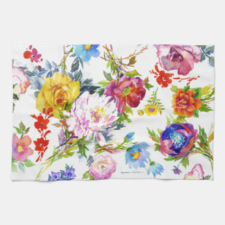 Flowerings キッチンタオル