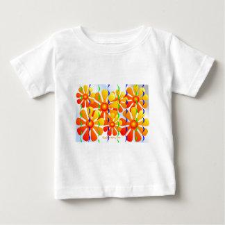 flowerpower ベビーTシャツ
