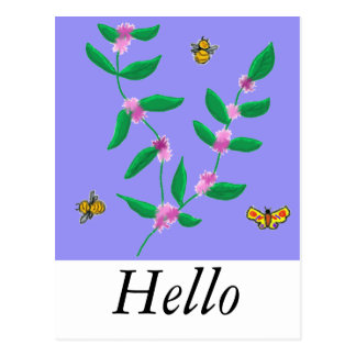 flowerpower ポストカード