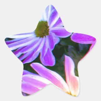 flowerpower 星シール