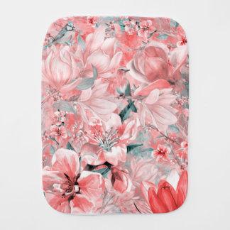 flowers2bflowersおよび鳥パターン#flowers バープクロス