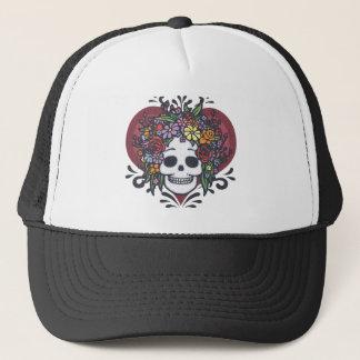 Flowerskull -お母さん キャップ