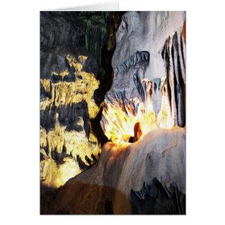 Flowstoneおよび鍾乳石 カード