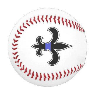 Fluer De Lis Saintsの薄いブルーライン野球 野球ボール