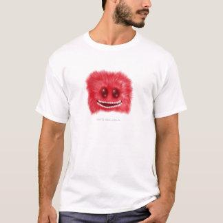 Fluffballの生き物をにやにや笑うこと Tシャツ