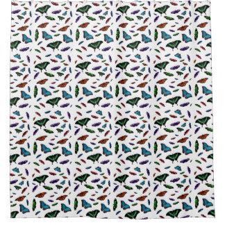 Flutterbiesのシャワー・カーテン(色を選んで下さい) シャワーカーテン