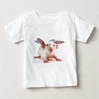 Flutterbyのラット! ベビーTシャツ