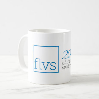 FLVSマグ20年の コーヒーマグカップ