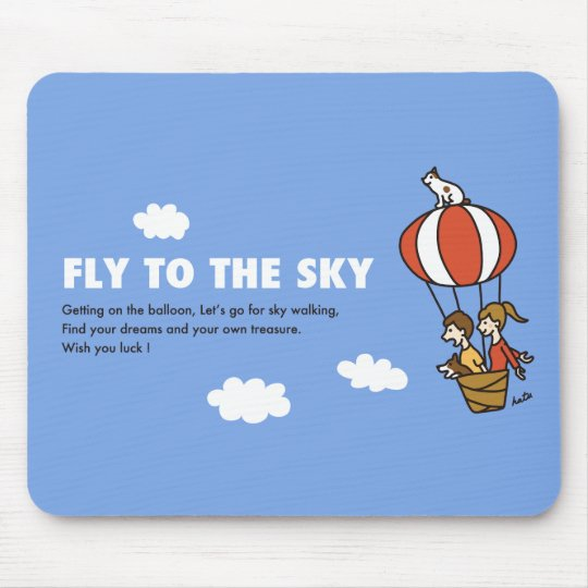 FLY TO THE SKY マウスパッド