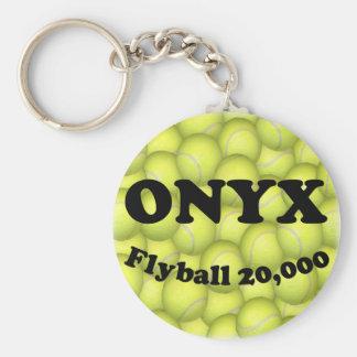 Flyballのオニックス、20,000ポイント キーホルダー