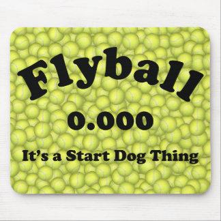 Flyballの鉄犬、- 10年間の競争! マウスパッド