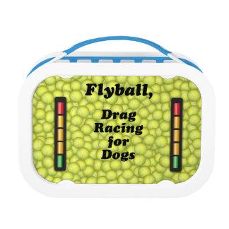 Flyballは犬のために競争するドラッグです! ランチボックス