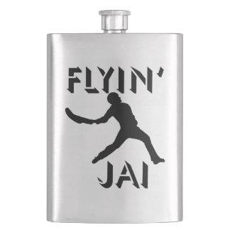 Flyin Jaiの黒いシルエット フラスク