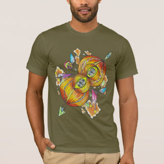 Flying infinity shirt.psychedelic butterfly. tシャツ