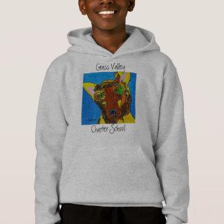 FLYNNのフード付きスウェットシャツ