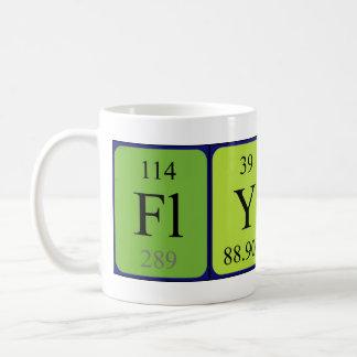 Flynnの周期表の名前のマグ コーヒーマグカップ