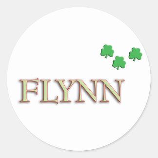 Flynnの姓 ラウンドシール