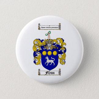FLYNNの家紋- FLYNNの紋章付き外衣 5.7CM 丸型バッジ