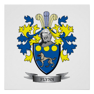 Flynnの紋章付き外衣 ポスター
