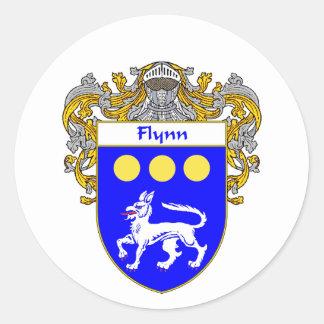 Flynnの紋章付き外衣(包まれる) ラウンドシール