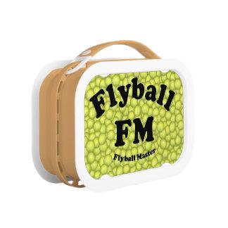 FMのFlyballのマスター5,000 ランチボックス