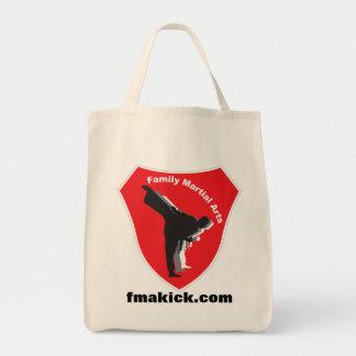 FMAのロゴ、fmakick.com トートバッグ
