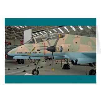 FMA IA 58 Pucaráの航空機 カード