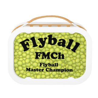 FMChのFlyballのマスターのチャンピオン15,000ポイント ランチボックス