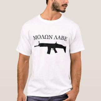 FN SCAR MK16 - MOLON LABE Tシャツ