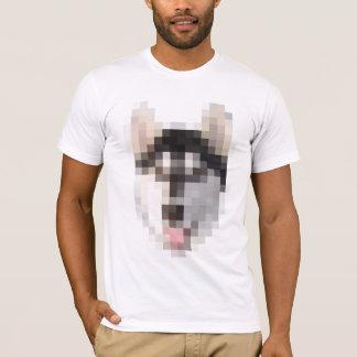 FNGピクセルハスキー Tシャツ