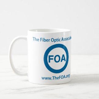 FOAのロゴのコーヒー・マグ コーヒーマグカップ