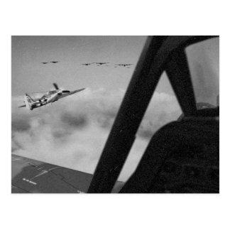 Focke-Wulf 190Dの戦闘機は閉まります ポストカード