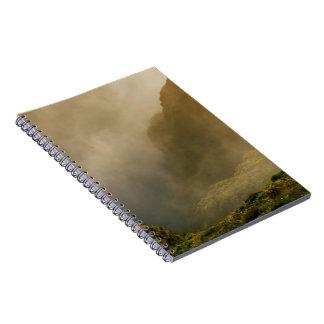 Fogoの噴火口、アゾレス ノートブック