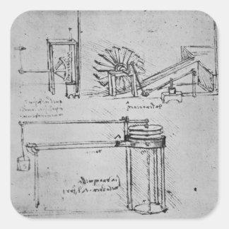 Fol。 53の原稿B 1488-89年 スクエアシール