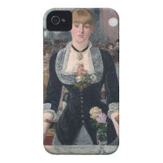 Folies-BergèreのバーエドワールManetの iPhone 4 ケース