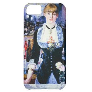 Folies BergereのiPhoneの例のManetのバー iPhone5Cケース