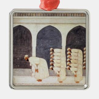 Folio.38a Fridaを導くモスクのムガール人の王子 メタルオーナメント