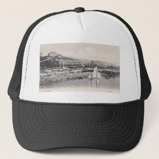 Folkestoneのビーチ1905年 キャップ
