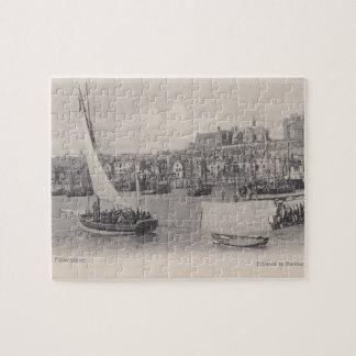 Folkestone港1905のジグソーパズル ジグソーパズル